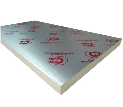 PIR Insulation Board 120mm x 1200mm x 2400mm