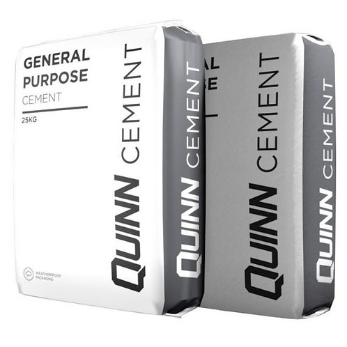 Quinn General Purpose Cement Plastic Bag  25KG