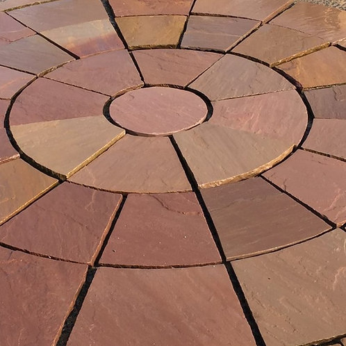 Heather Modac 2.4m Sandstone Circle inc sq.off Kit