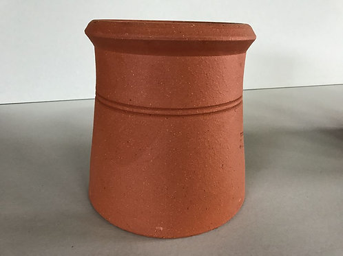 "300mm (12"") Cannon Head Chimney Pot Red (terracotta)"