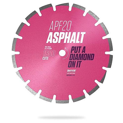 300mm APF20 ASPHALT DIAMOND BLADE - 1600 CUTS