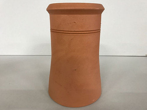 """450mm (18"""") Cannon Head Chimney Pot Red (terracotta)"""
