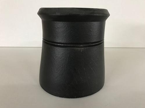 300mm 12 Quot Cannon Head Chimney Pot Black Cbs Carlisle