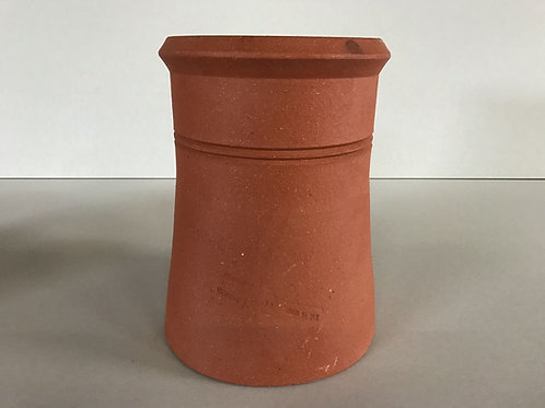 """375mm (15"""") Cannon Head Chimney Pot Red (terracotta)"""