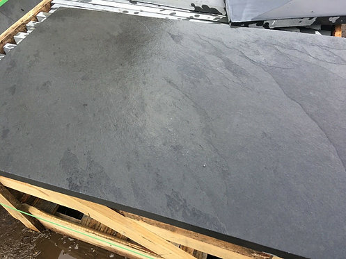 Black Slate 1200mm x 600mm x 20mm Calibrated Sawn Edges