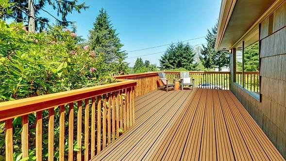 Aged Oak Heritage Composite Decking Witchdeck 3.6m