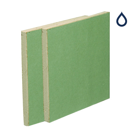 British Gypsum Gyproc Moisture Resistant Plasterboard Tapered Edge 12.5mm 2400mm