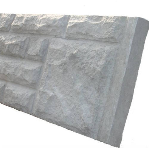 6' x 1' Rock Faced Gravel Board