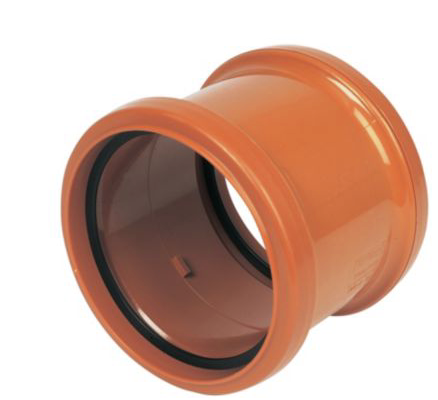 FLOPLAST UNDERGROUND DRAINAGE PIPE COUPLING (DIA)110MM