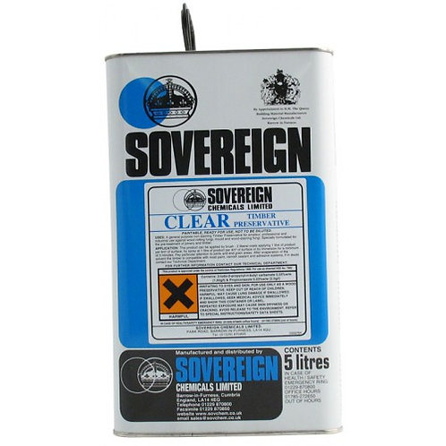 Sovereign Timber Preservative Clear 5L