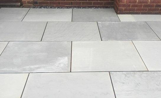 Kandla Grey Sandstone Sawn & Honed 900x600 Single Size 20mm