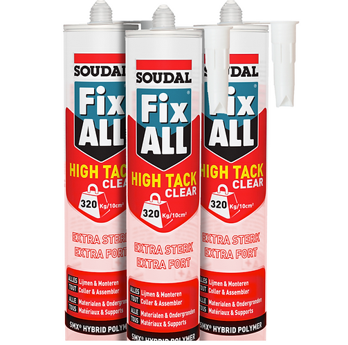 Soudal Fix All High Tack - Triple Pack