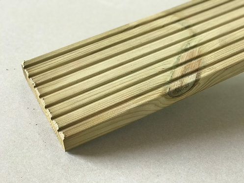 32mm x 150mm Treated Timber Decking Duel Pattern 3.6m