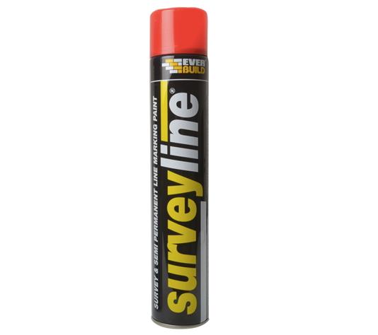 Surveyline Line Marking Paint Red