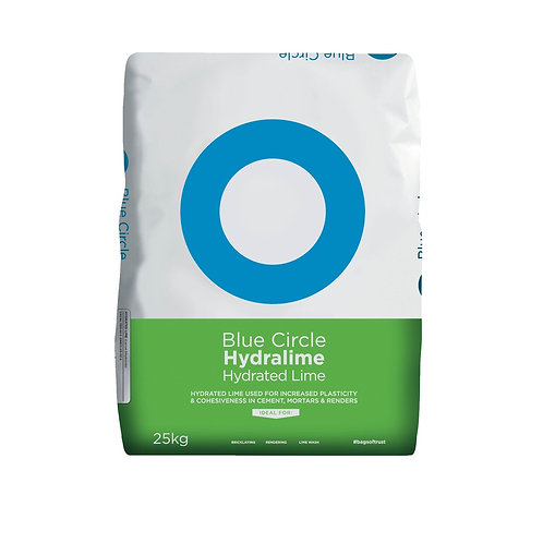 Blue Circle Hydralime Hyrdrated Lime 25KG