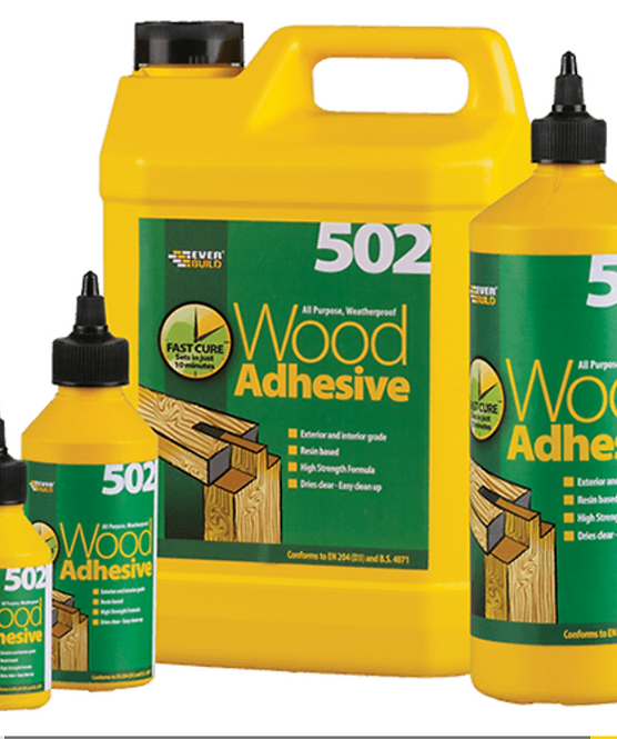 502 All Purpose Weatherproof Wood Adhesive 5L