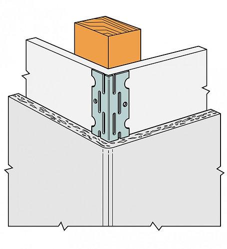 Thin Coat Angle Bead 3mm x 3.0M TCB3004 GALVANISED