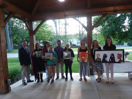 2018 Art Students Honored