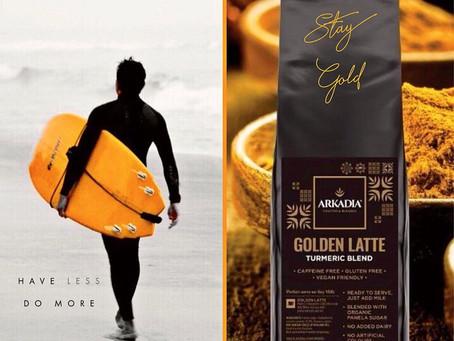 Iced Golden Latte (Turmeric)