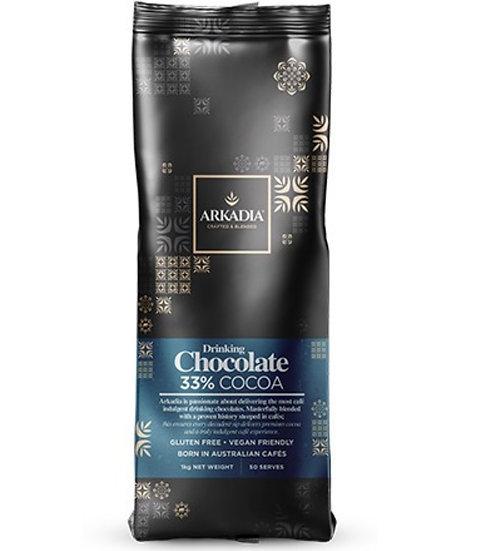 Arkadia Drinking Chocolate 33% Cocoa