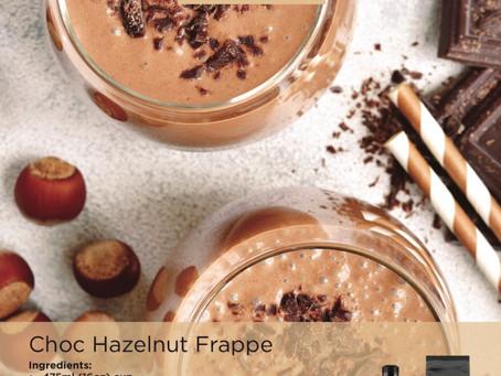 Choc Hazelnut Frappe 🍫🌰