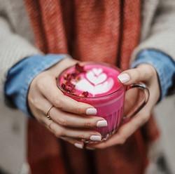 Beetroot Natural Power Latte