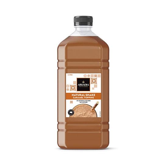 Natural Caramel Milkshake Topping