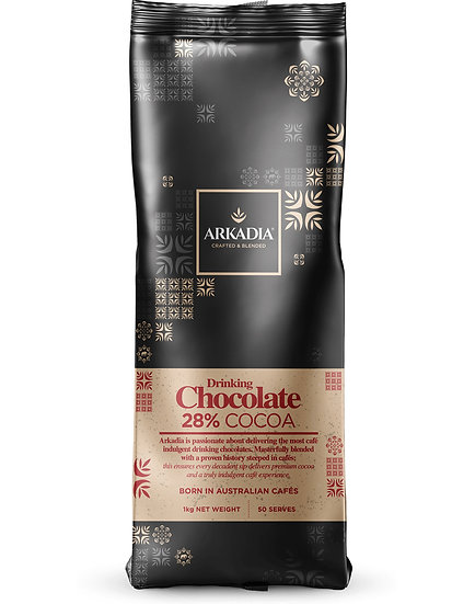 Arkadia Drinking Chocolate 28% Cocoa