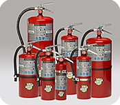 We offer Inspection, Hydrostatic Pressure Testing, 6 Year Maintenance, Recharging & Repairs to Hand Portable Fire Extinguishers