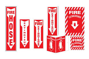 We offer many types of Fire Safety Signs, as well as custom made sign which are available upon request