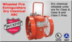 We offer Wheeled Fire Extinguishers Dry Chemical ABC