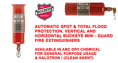 We offer Buckeye Mini-Guard for protection on your sensitive High Value items