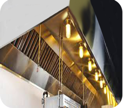 We can Furnish and Install Exhaust Hoods and duct work for all Commercial Cooking Operations