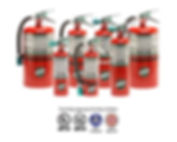 "We offer Halotron I fire extinguishers provide ""Clean Agent"" fire protection that leaves no residue for sensitive electronics or similar High Value fire protection requirements"