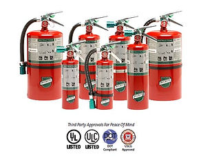"""We offer Halotron I fire extinguishers provide """"Clean Agent"""" fire protection that leaves no residue for sensitive electronics or similar High Valuefire protection requirements"""