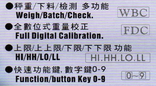 BDI-2001B 特性