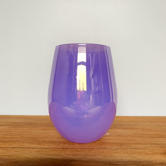 Purple Gelato Stemless Glass Candle
