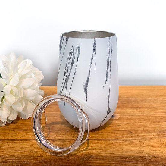 Charm - Marble Reusable Coffee/Candle Jar