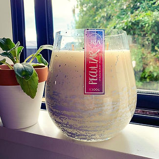 Our White Jumbo Stemless Candle 😍 1.3kg