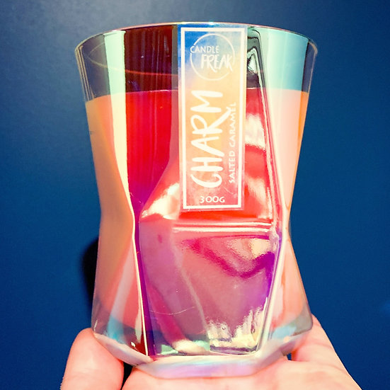 Curious - Vortex Crystal Glass Candle