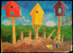 Bird House at the Beach_