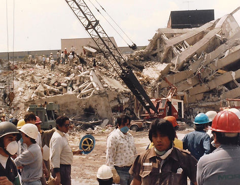 Mexico City '85 Earthquake Search and Rescue
