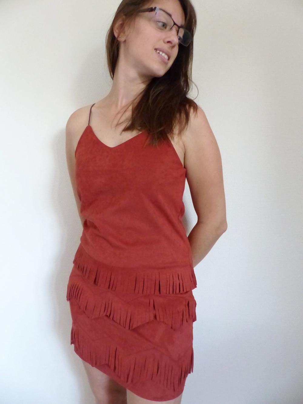 La Robe Tempete Rouge Vetement Inspiration Amerindienne