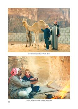 na pustyni Wadi Rum