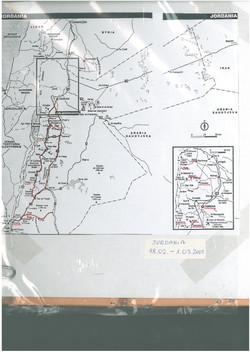 trasa podróży po Jordanii