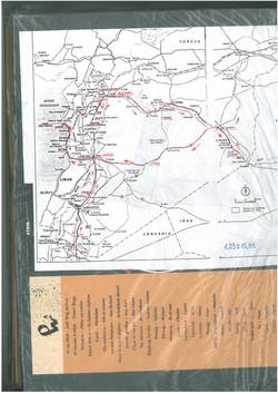 trasa podróży po Syrii