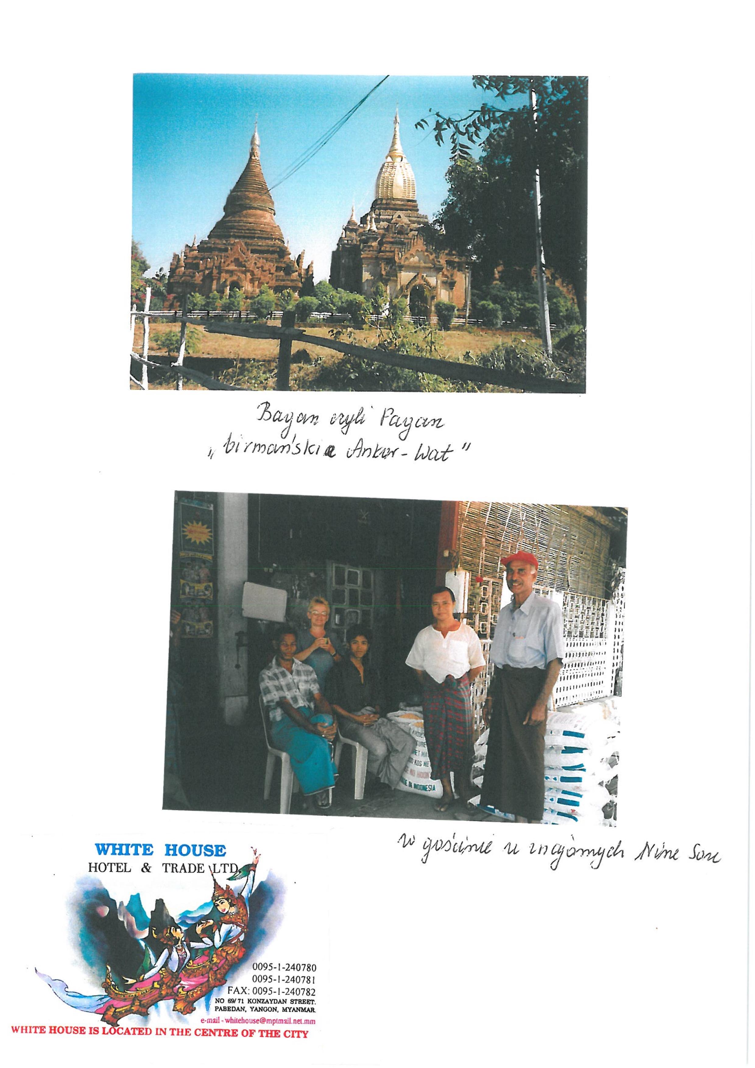 Birma  - w podróży