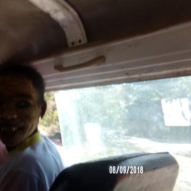 zdjęcie w busie