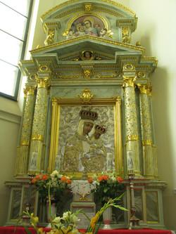 Latowicz obraz Matki Boskiej Latowickiej z XVIIw