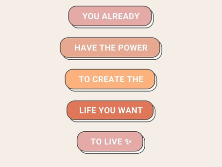 Design your life!